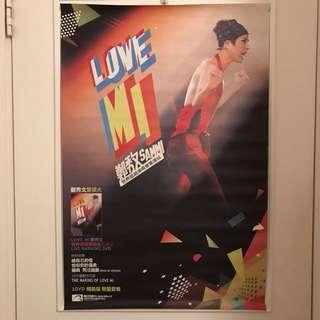 Sammi Cheng 鄭秀文 LOVE MI 世界巡迴演唱會香港站海報