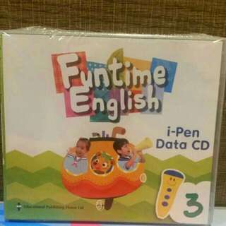 [NEW] Funtime English ipen data CD