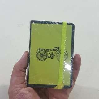 Legit Brand New Sealed Small Light Green Notebook Butterfly Bird