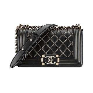 Authentic Small Chanel Boy Handbag *limited edition*