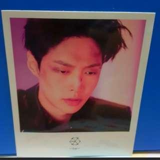 EXO Lay Official photo polaroid