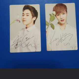 EXO Official Nature Republic Photocards & Standee