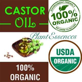 100% Pure and Organic Hexane Free Castor Oil