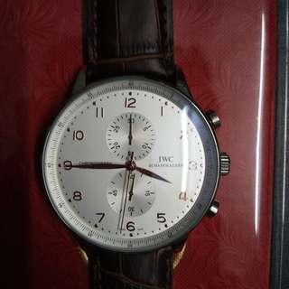 Grade AAA Replica Watch : IWC Chronograph Rattrapante Quatz
