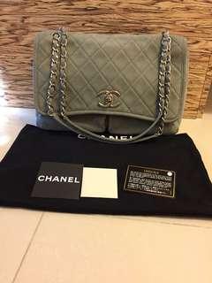 Chanel Suede Flag Bag