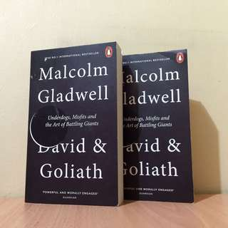 SALE: Malcolm Gladwell - David and Goliath