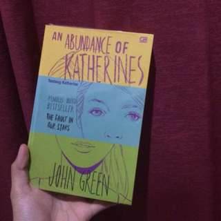 An abundance of katherine - John Green