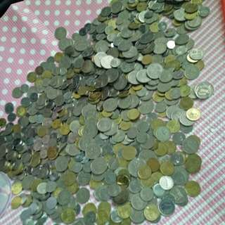Coins to exchange cash (total rm200)