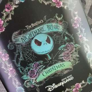 2008年絕版變色Tim Burton's the nightmare before Christmas儲物盒