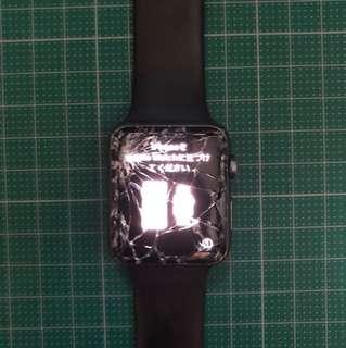 爆mon Apple Watch series 1 42mm 價錢可議