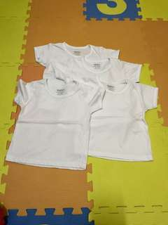 All white shirt
