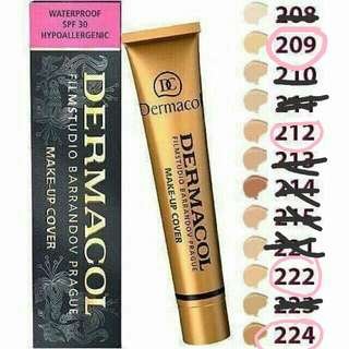Dermacol Waterproof Cover Foundation 30g