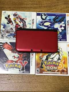 Nintendo 3DS XL (& Games)