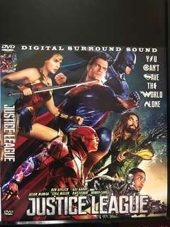 Dvd English movie, Justice League