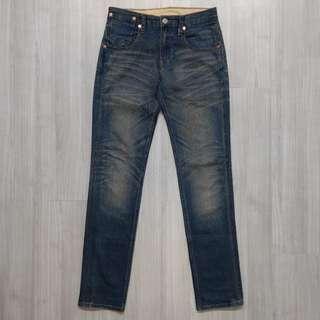 Levi's levis 95910-0001 w29 L32 刷色合身小直筒牛仔褲 511 510 501