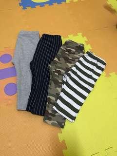 4 pcs Uniqlo leggings