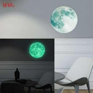 Moon wallsticker