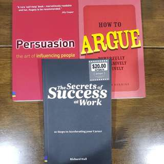 Various success at work books
