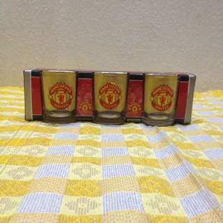 🏮 Official Manchester United Whisky Tots Mint