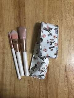 Make up Brush - Set of 3