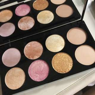 Ultra Blush Palette Golden Sugar 2 Rose Gold