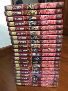 Fairytail (Chinese) Vol.1-20