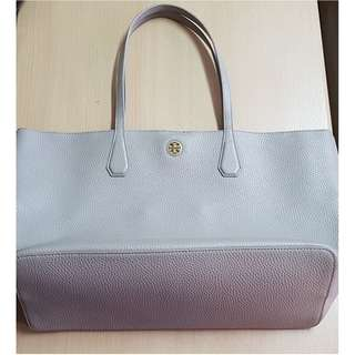 Tory Burch Perry Tote (French Grey) Shoulder Bag