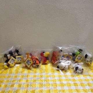 🍀 Vintage Selected McD-Disney Millennium Collection Beanies