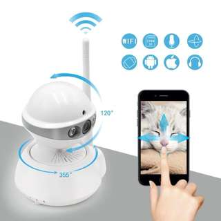 Robot IP wifi security camera