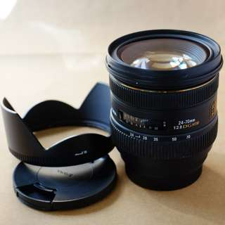 SIGMA 24-70mm F2.8 lens (Canon mount)