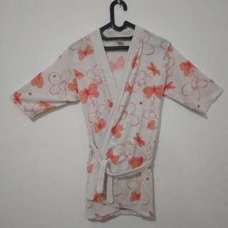 Baju handuk / kimono berenang anak