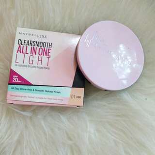 Maybelline Clear Smooth All in One Pressed Powder