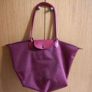 Cathcarm Foldable Zipped Tote Bag