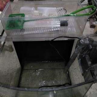 魚缸30x30,前打竿