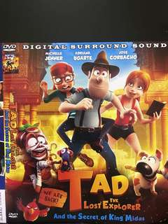 Dvd English movie, Tad The Lost Explorer 2