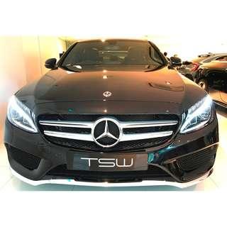 Mercedes Benz (Brand New) C-Class C200 AMG Line