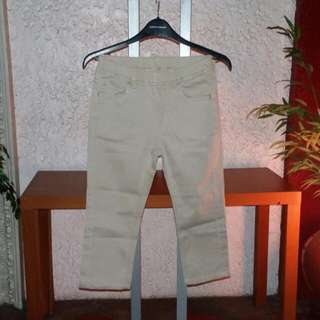 Uniqlo Khaki Cotton Sretch Jeans (L)