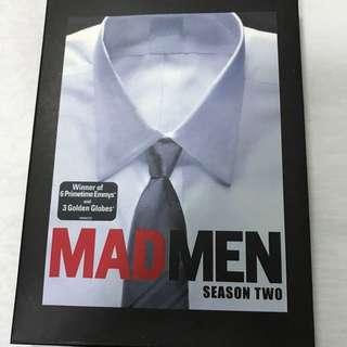 Mad Men Season 2 - 4 DVD Set Special