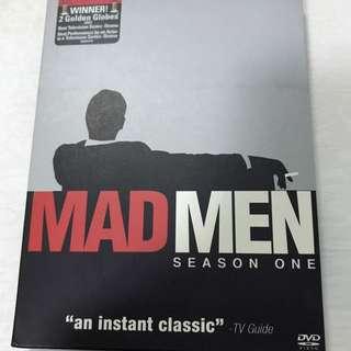 Mad Men Season One 4 DVD Set Limited Edition