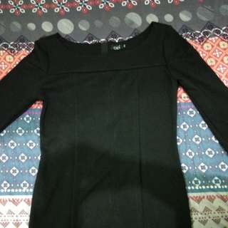 Dress hitam ceil