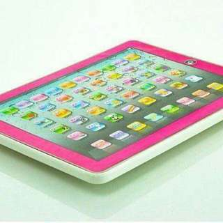 LEARNING IPAD   SOUNDS LANG PO SIYA   AVAIL COLOR : PINK AND BLUE
