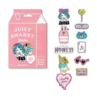 Last 1 Instock! (Mix & Match)*Mind Wave Japan - Juicy Swanky Series (Pink)