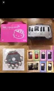 Hello Kitty x MTR 精英號列車🚄珍藏系列