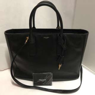 Saint Laurent - Black Leather Bag 黑色牛皮手袋