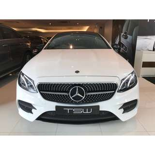 Mercedes Benz (Brand New) E300 AMG Line Coupe
