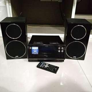 JVC Mirco Component System Hifi CA-UXF5VB (Song Samsung LG Yamaha)