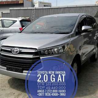 2018 PROMO TOYOTA NEW INNOVA 2.0 G AT