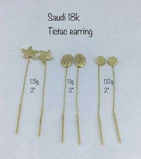 18 k saudi gold tictac