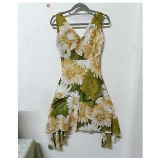 向日葵飄逸洋裝