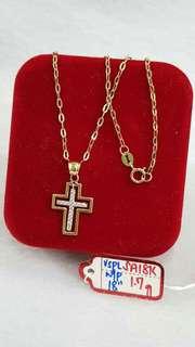 Pre order 18 k necklace